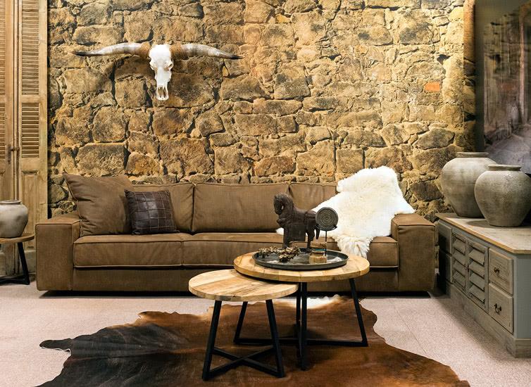 Intenz wonen landelijke sfeer & longhorn decoratie